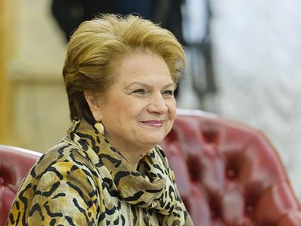 Людмила Швецова на заседании городского правительства в мэрии Москвы