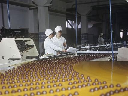 Конвейерная лента Киевской кондитерской фабрики им. К. Маркса