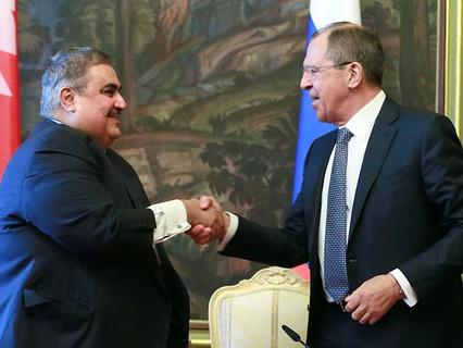 Сергей Лавров встретился со своим коллегой из Бахрейна