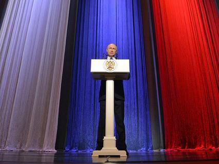 Владимир Путин выступил на торжественном вечере в честь Дня работника органов безопасносности России