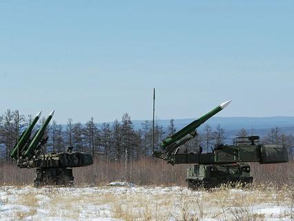 """Зенитный ракетный комплекс """"Бук"""""""
