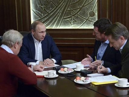 Владимир Путин дал интервью немецкому изданию Bild