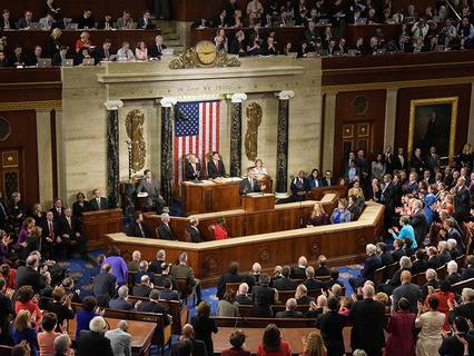 Барак Обама выступил с обращением к Конгрессу