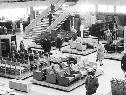 Мебельный магазин. 1976 год