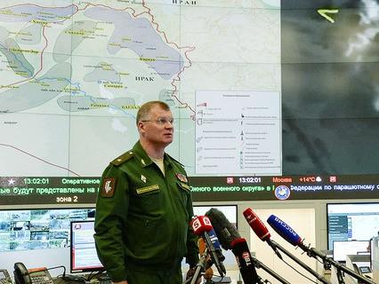 Начальник управления пресс-службы и информации Министерства обороны генерал-майор Игорь Конашенков