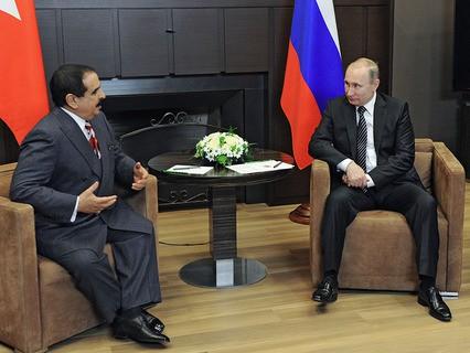 Владимир Путин встретился с королём Бахрейна