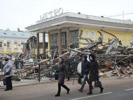 Снос самостроя в Москве