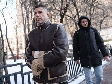 Актёр Валерий Николаев в Пресненском районном суде