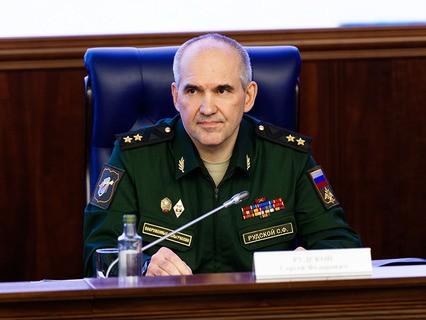 Заместитель начальника Генштаба ВС РФ, генерал-лейтенант Сергей Рудской