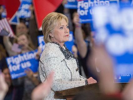 Хиллари Клинтон в Южной Каролине