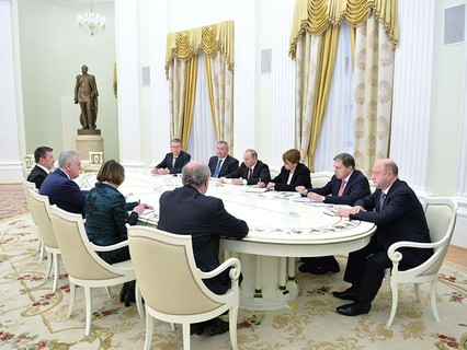 Владимир Путин принял президента Сербии Томислава Николича