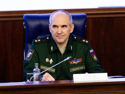 Начальник Главного оперативного управления Генштаба ВС РФ Сергей Рудской
