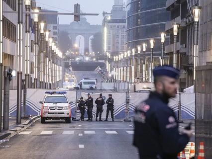Атака террористов на Брюссель