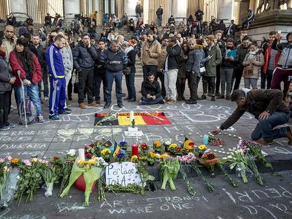 Бельгия скорбит по погибшим в терактах