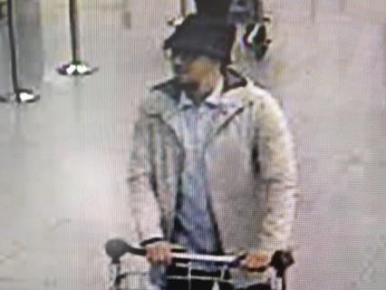 Террорист в аэропорту Брюсселя