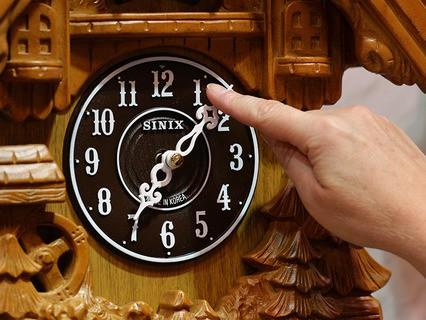 Перевод часов на новое время