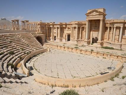 Историческая часть Пальмиры после освобождения города от террористов