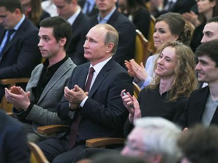 Владимир Путин посетил концерт Объединённого оркестра Мюнхенской филармонии и Мариинского театра
