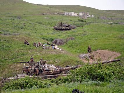 В зоне Карабахского конфликта