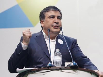 Глава Одесской областной администрации Михаил Саакашвили
