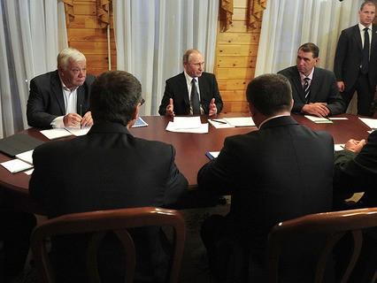 Владимир Путин провёл совещание по развитию Амурской области