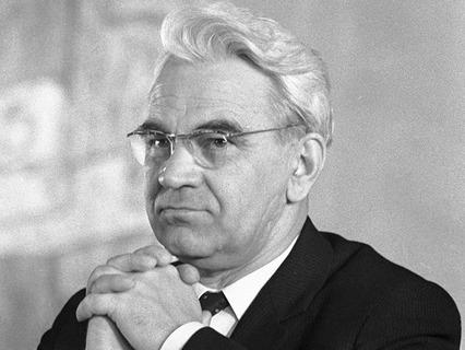 Президент Академии наук СССР Мстислав Келдыш