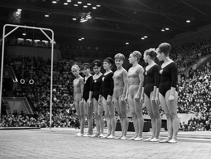 Советские гимнастки