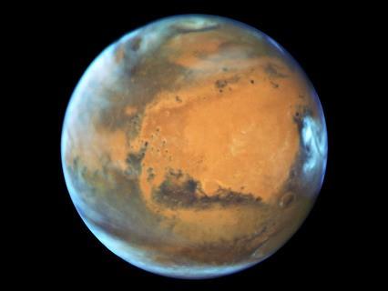 Телескоп Hubble сделал новые детальные фотографии Марса