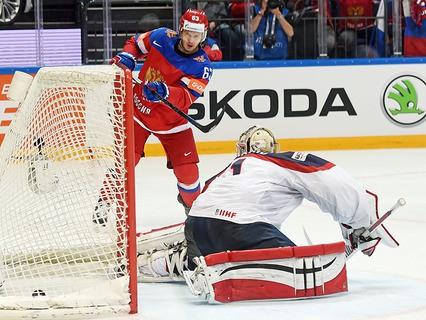 Сборная России разгромила команду США со счётом 7:2 и завоевала бронзу на чемпионате мира по хоккею