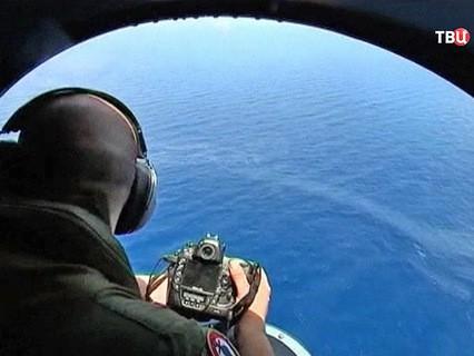 Поисковая операция в районе крушения самолета