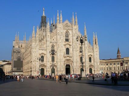 Милан. Собор Дуомо и Соборная площадь