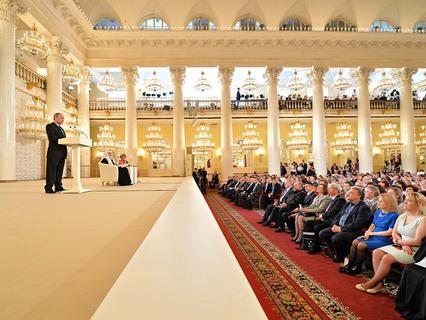 Заседание Общества русской словесности