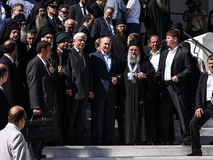 Визит Владимира Путина в Грецию