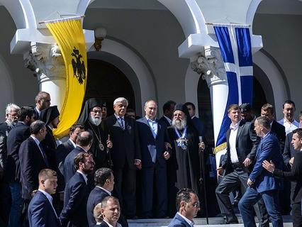 Владимир Путин посетил Афон