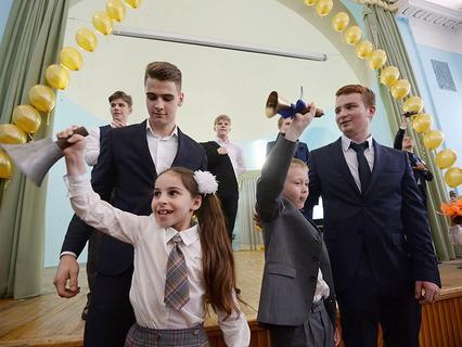 Последний звонок прозвучал для московских выпускников