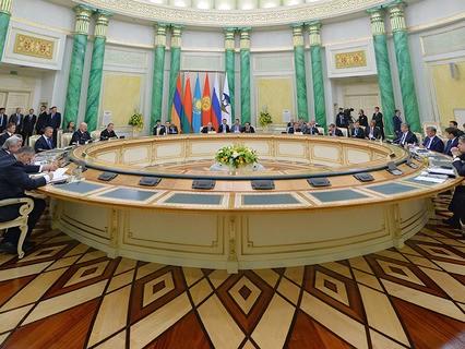 Заседание в Астане Высшего Евразийского экономического совета