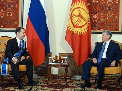 Дмитрий Медведев провёл переговоры в Бишкеке