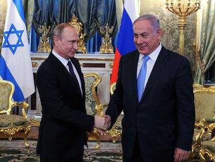 В Кремле прошли переговоры Владимира Путина и Биньямина Нетаньяху