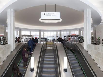 Эскалатор в московском метро