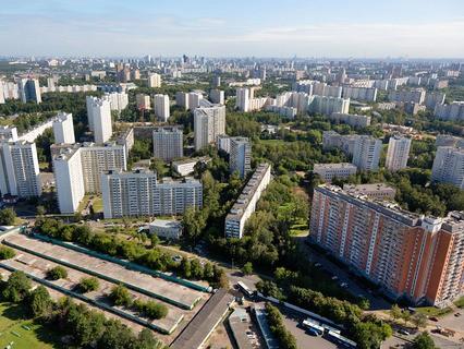Спальный район города Москвы