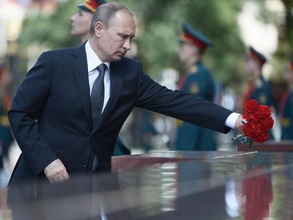 75 лет со дня начала войны - Путин о 22 июня и его уроках