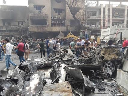 В Ираке объявлен трёхдневный траур в связи с крупным терактом в Багдаде