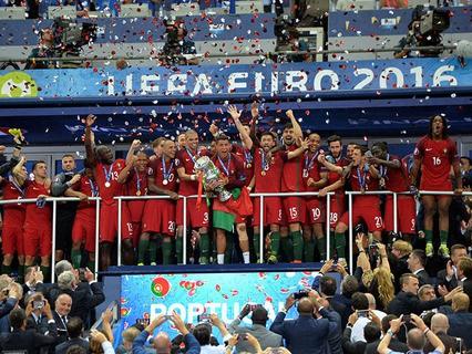 Сборная Португалии впервые в своей истории стала чемпионом Европы