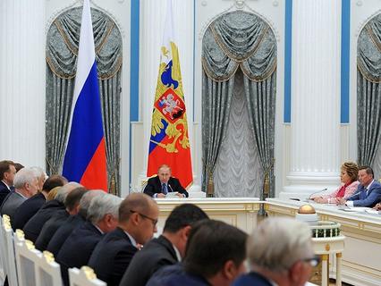 Владимир Путин провёл в Кремле первое заседание Совета при президенте по стратегическому развитию и приоритетным проектам