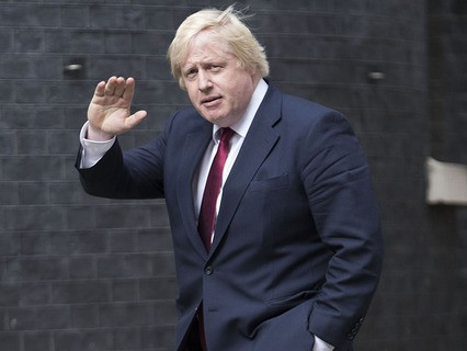 Новый глава МИД Великобритании Борис Джонсон