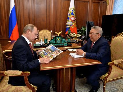Владимир Путин встретился в Кремле с главой республики Саха (Якутия) Егором Борисовым