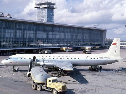 Аэропорт Домодедово. 1974 год