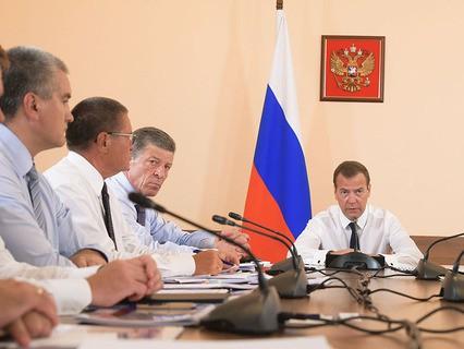 Дмитрий Медведев на совещании по развитию дорожной сети Крыма