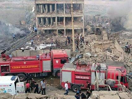 Мощный взрыв в Турции