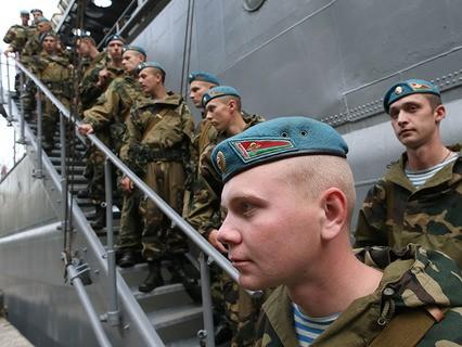 Белорусские десантники